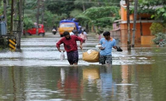 الهند.. وفاة 11 وإجلاء الآلاف بسبب سيول غرب البلاد