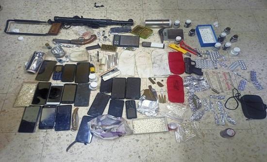 الأمن يكشف مجموعة جرمية لترويج المخدرات في العقبة