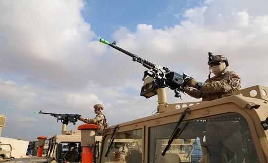 استمرار فعاليات التدريب المشترك سيف العرب بمشاركة القوات المسلحة