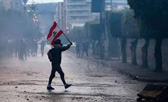 لبنان: تظاهرات احتجاجية في طرابلس ومسيرات منددة أمام منازل السياسيين