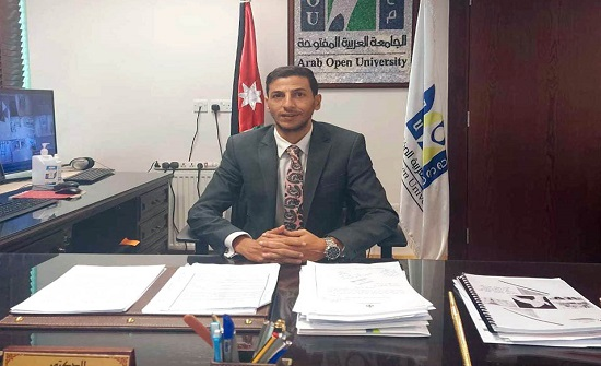 الدكتور محمد قطيشات مديراً للجامعة العربية المفتوحة