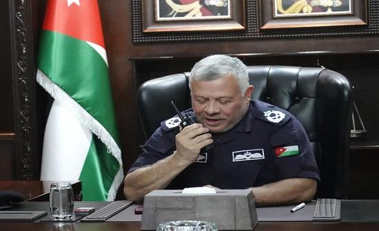 بالفيديو والصور : الملك يزور مديرية الأمن العام
