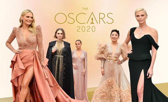 Oscar 2020:إطلالات النجمات على السجادة الحمراء