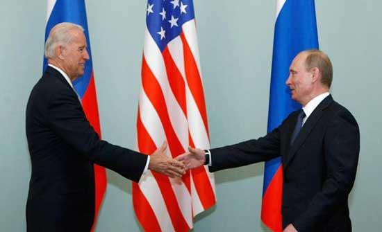 "بايدن ""يأمل"" لقاء بوتين في يونيو"