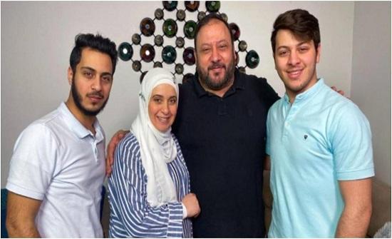 عائلة وليد مقداد تفاجئه بعيد ميلاده.. وخطيبته بعيدة عن الانظار