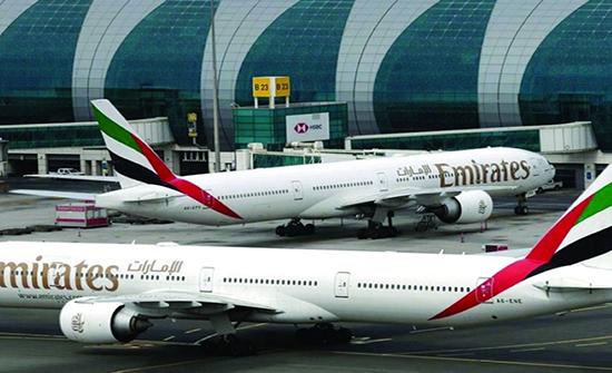 طيران الإمارات يحتل المرتبة الأولى في تصنيف السفر الآمن