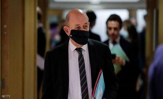 وزير الخارجية الفرنسي يحث على احترام سيادة العراق