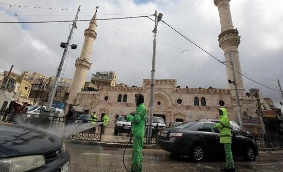 أمانة عمان تبدأ بتعقيم العاصمة مع سريان حظر التجول
