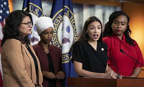 """ترامب يصف أربع نساء ويهوديين في الكونغرس بـ""""الهمج"""""""