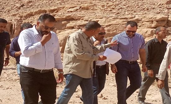 لجنة الطاقة النيابية تجول في مناطق استكشاف النحاس في ضانا