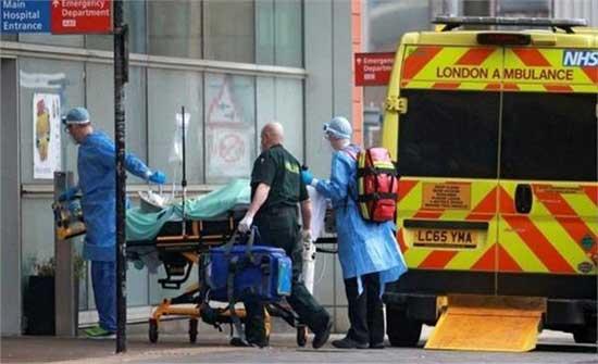 بريطانيا: 3 وفيات و2439 إصابة بكورونا