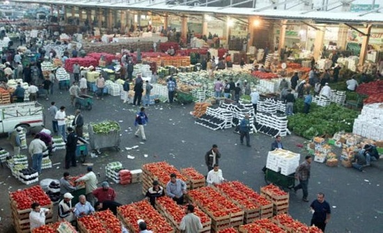 أمانة عمان تحدد ساعات العمل في السوق المركزي