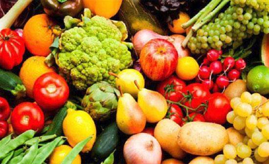 أسعار الخضار والفواكه ليوم الاربعاء
