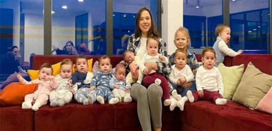 قصّة مثيرة..  روسية تصبح أمّاً لـ 11 طفلاً وهي بسنّ الـ 23 عاماً فقط! (فيديو)