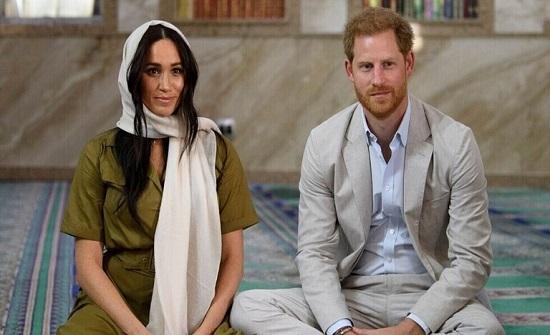 """""""عائلة سمبسون"""" ترغب في انضمام الأمير هاري وميغان ماركل لأداء شخصياتهما في السلسلة"""