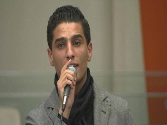 بالصور والفيديو..محمد عساف يغني للقضية الفلسطينية في باحة الأمم المتحدة