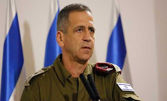 رئيس الأركان الإسرائيلي: سنواصل تدمير قدرات إيران العسكرية