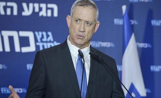 رئيس الوزراء الإسرائيلي البديل يجدد رفضه لخطة الضم الإسرائيلية