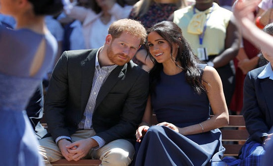 هاري وميغان يعلنان ولادة طفلتهما ليليبيت ديانا