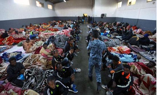 الأمم المتحدة تغلق مركز مهاجرين في ليبيا بسبب ميليشيا طرابلس