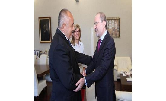الصفدي يلتقي رئيس الوزراء البلغاري