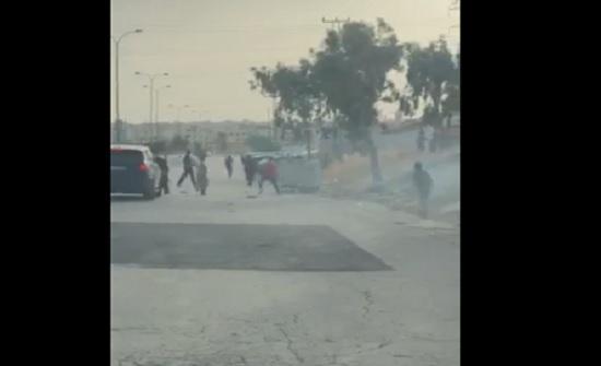 بالفيديو : مشاجرة في طبربور