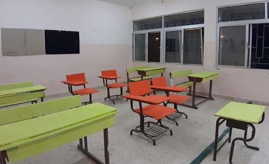 حملة تطوعية لصيانة مدارس إربد