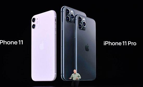 """شاهد : Apple تكشف عن iPhone 11 pro و max """" بـ 3 كاميرات خلفية"""