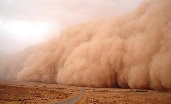 طقس العرب : عواصف رملية اليوم