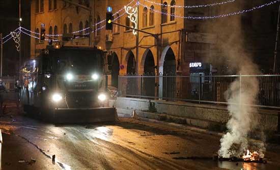الضفة.. عشرات الإصابات إثر مواجهات مع الجيش الإسرائيلي