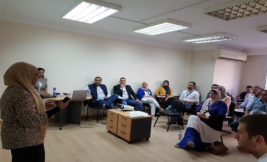 وفد فني يشارك بدورة التشغيل المستدام في القاهرة