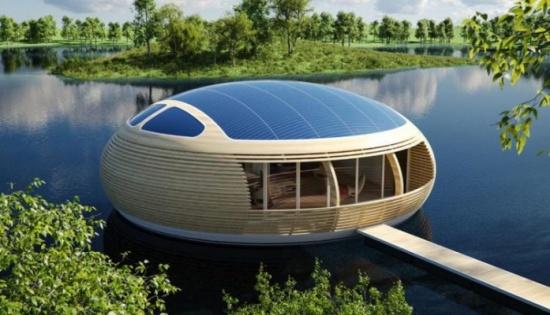 بالصور: تصميمات معمارية لعالم تغمره المياه في المستقبل