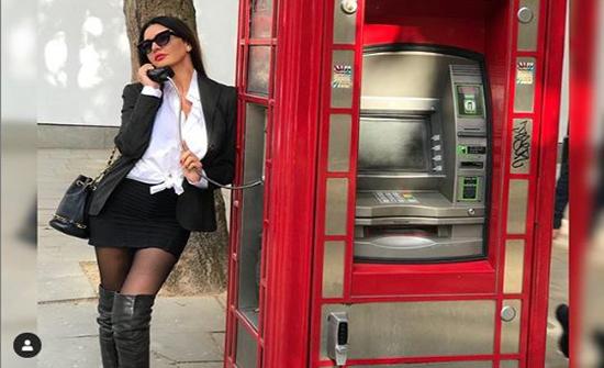 شاهد : اللبنانية لاميتا فرنجية بإطلالة مثيرة و جذابة