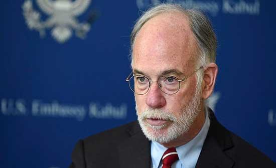 سفير واشنطن: سننسق مع كابل بأي نشاط عسكري في أفغانستان