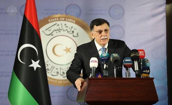 السراج يتوعد قوات حفتر: العقاب قادم والرد سيكون موجعا