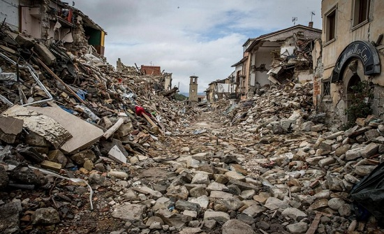 زلزال بقوة 7ر5 درجة يضرب شمال غربى الصين