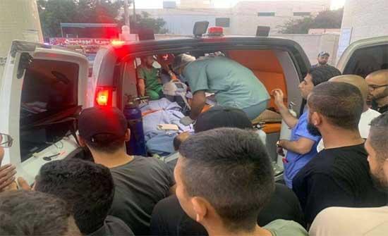 إصابة عشرات الفلسطينيين خلال مواجهات عنيفة مع الاحتلال شمالي الضفة