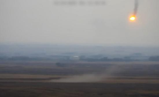 لحظة تدمير مروحية أذربيجانية في قره باغ من قبل قوات أرمنية .. بالفيديو