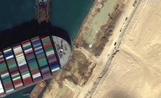 """""""4 أمتار"""".. تطور إيجابي جديد في أزمة قناة السويس"""