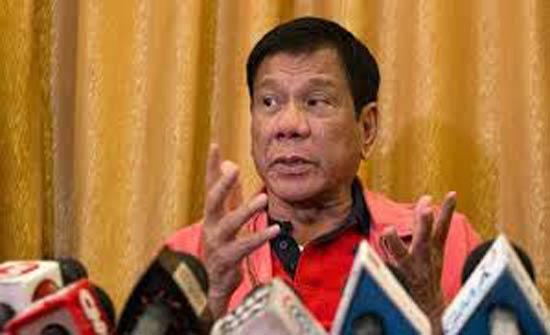 رئيس الفلبين يطلب من الجيش رميه بالرصاص.. ما السبب؟