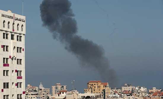 غزة: ارتفاع جرحى غارات الاحتلال الى 95