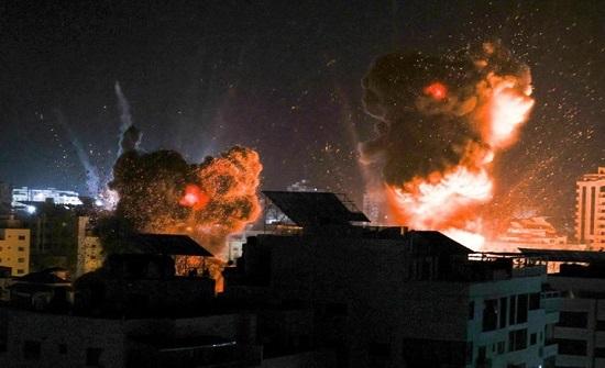 غارات إسرائيلية تستهدف موقعا للمقاومة وسط غزّة