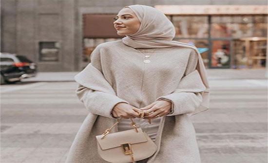توبات صوفية لشتاء 2020 من مدونات الموضة المحجبات