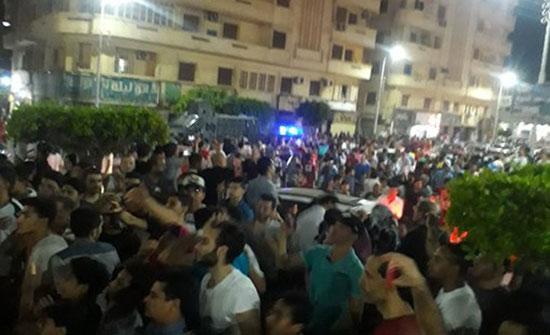 بالفيديو : المنصورة تبدأ التظاهرات بمصر ضد السيسي