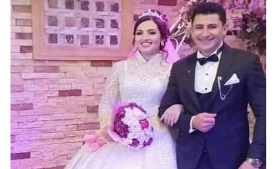 فاجعة بالصور.. وفاة عروسين مصريين في حفل زفافهما