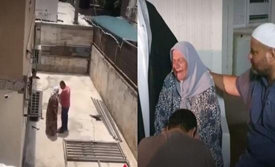 بالفيديو.. فلسطيني يعتذر لوالدته بعد الاعتداء عليها بالضرب والسباب