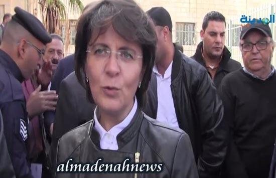 السفيرة عناب : الاردن يؤكد مركزية القضية الفلسطينية