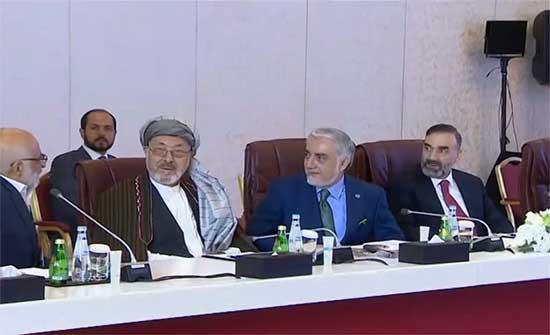بيان مشترك: وفدا طالبان والحكومة يتفقان على تسريع مفاوضات الحل السياسي