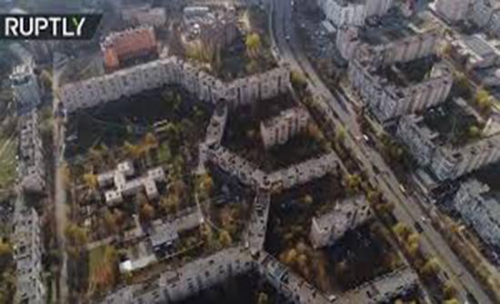 بالفيديو : تعرف على أطول مبنى سكني في العالم في أوكرانيا