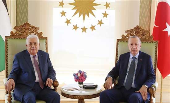 أردوغان: لا سلام طالما استمرت إسرائيل في سياسات الاحتلال والضم
